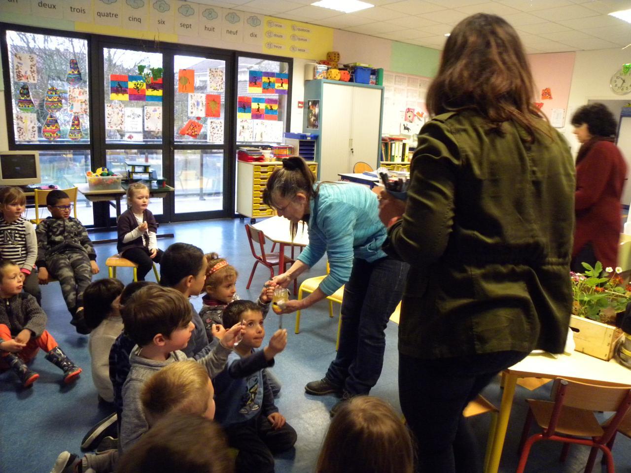 Initiation à la biodiversité dans les écoles de Cardet, Lezan et Lédignan.