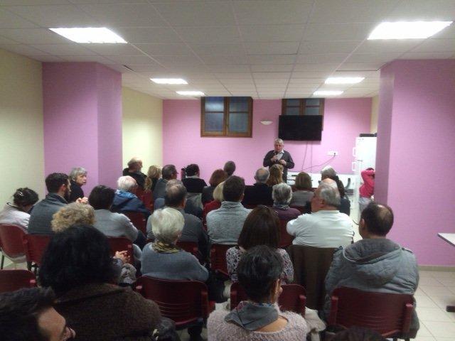 Conférence à St-Mamert du Gard
