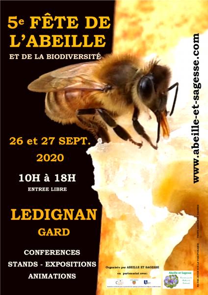 Affiche 5e fete abeille 2020